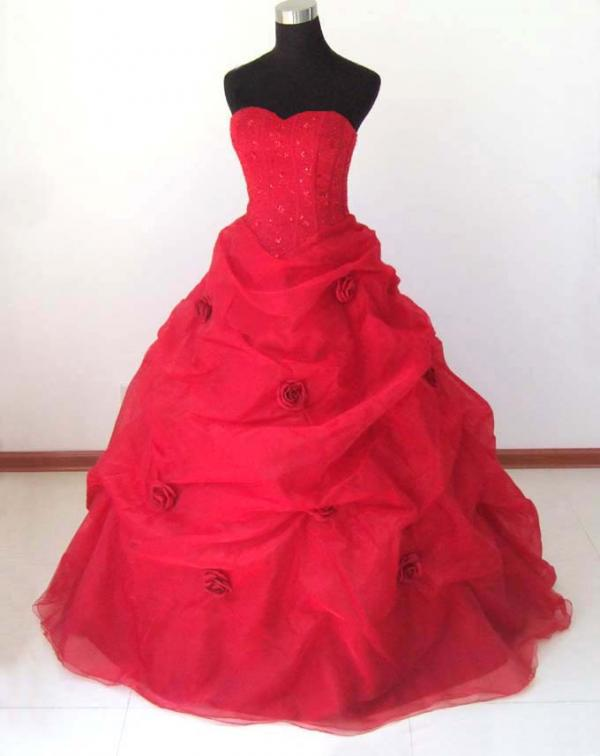 wedding dress gh136 red.jpg