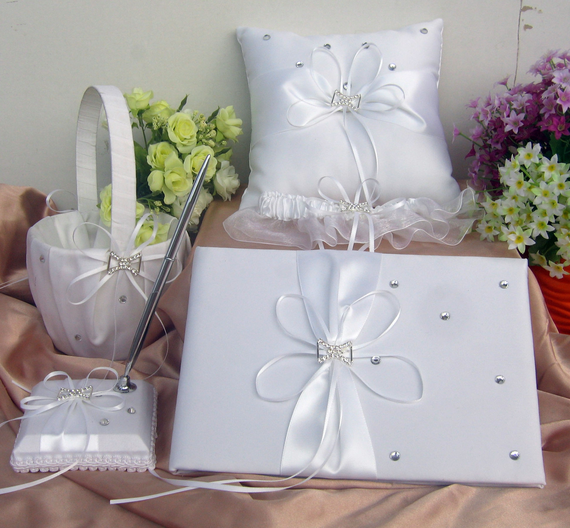 wedding guest book XHT1015 set.JPG